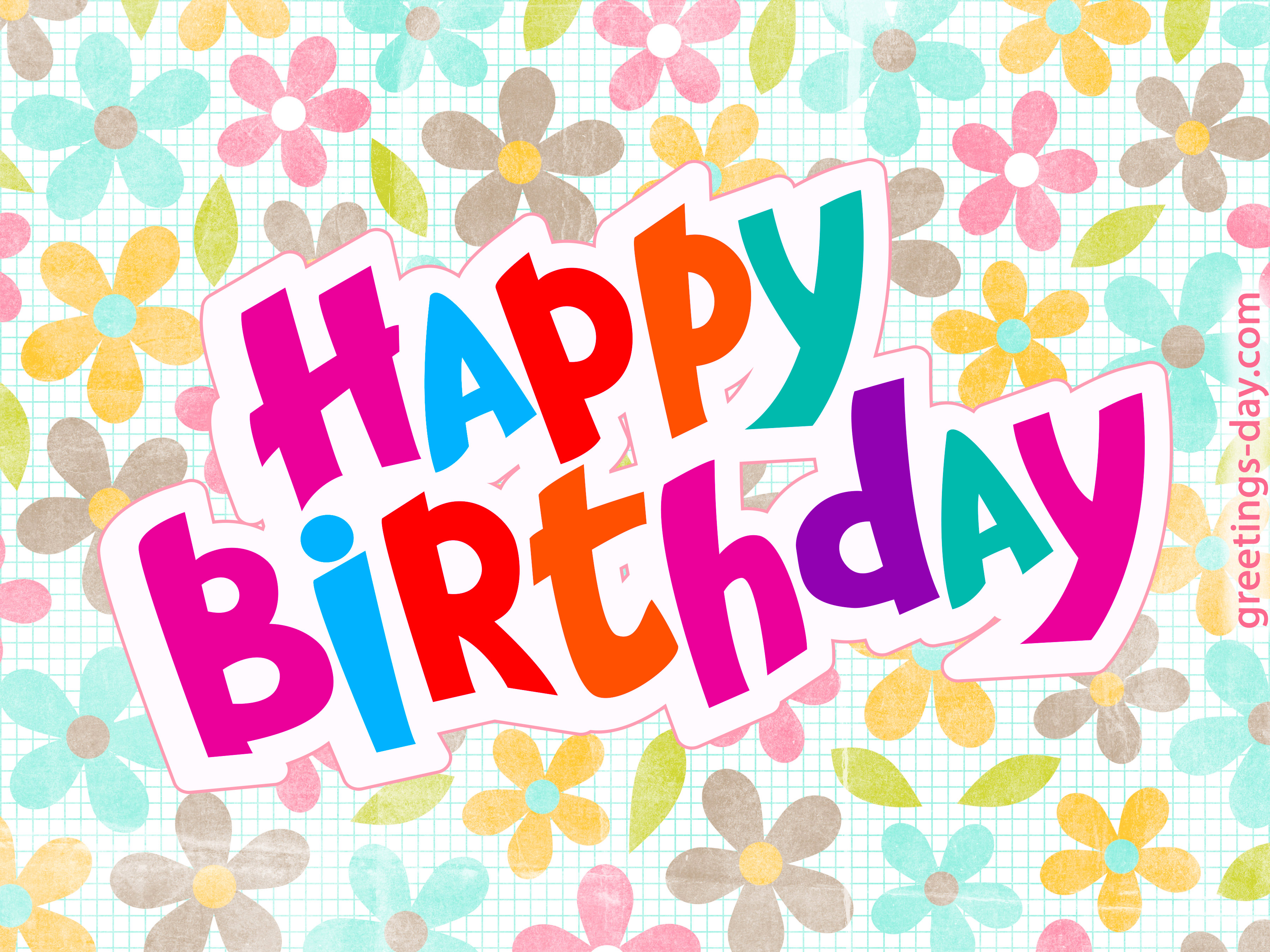 Happy Birthday Greeting Cards. Share Image To You Friend