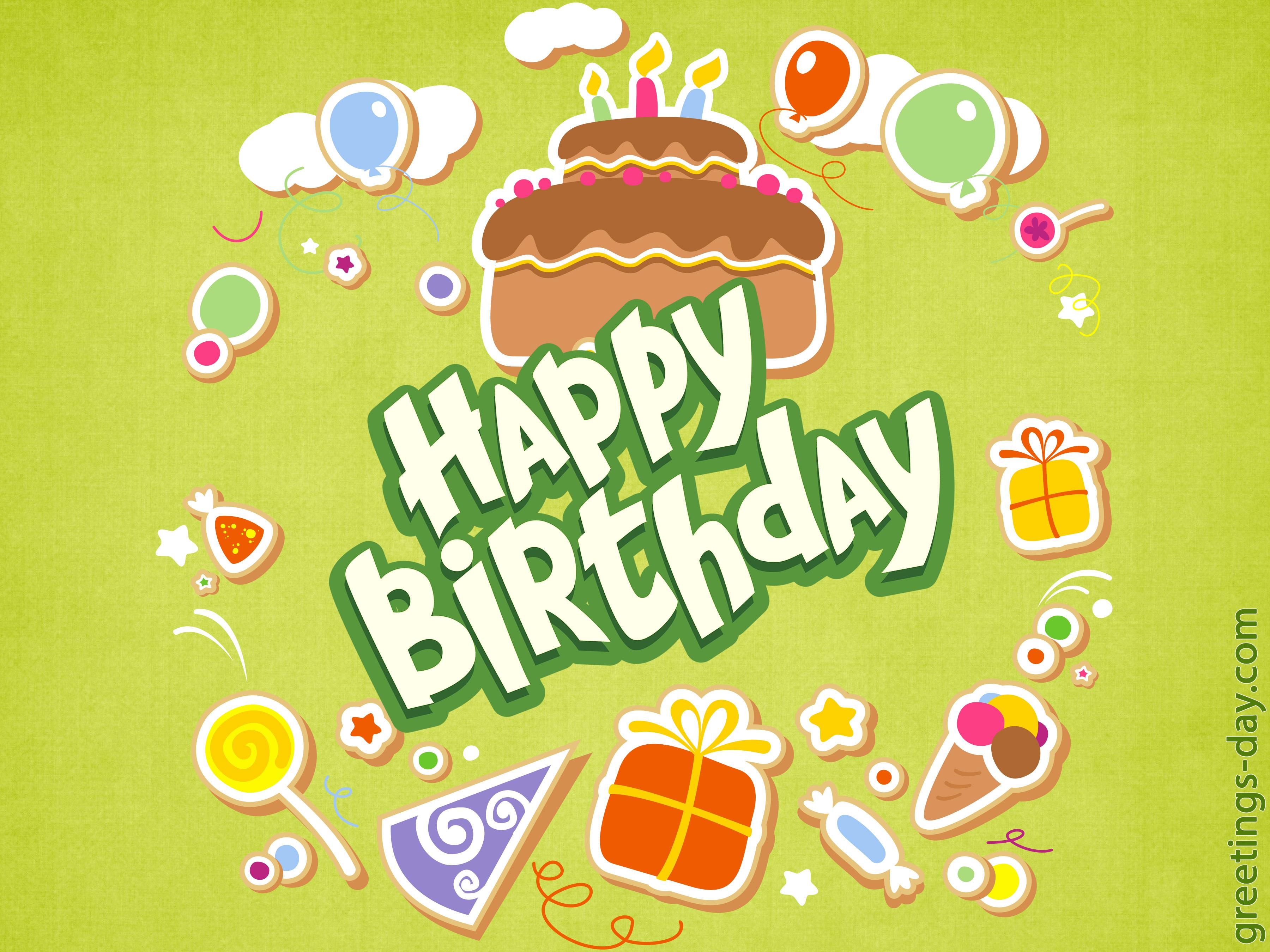 Happy Birthday card 23 06 06 ⋆ Greeting Cards Animated