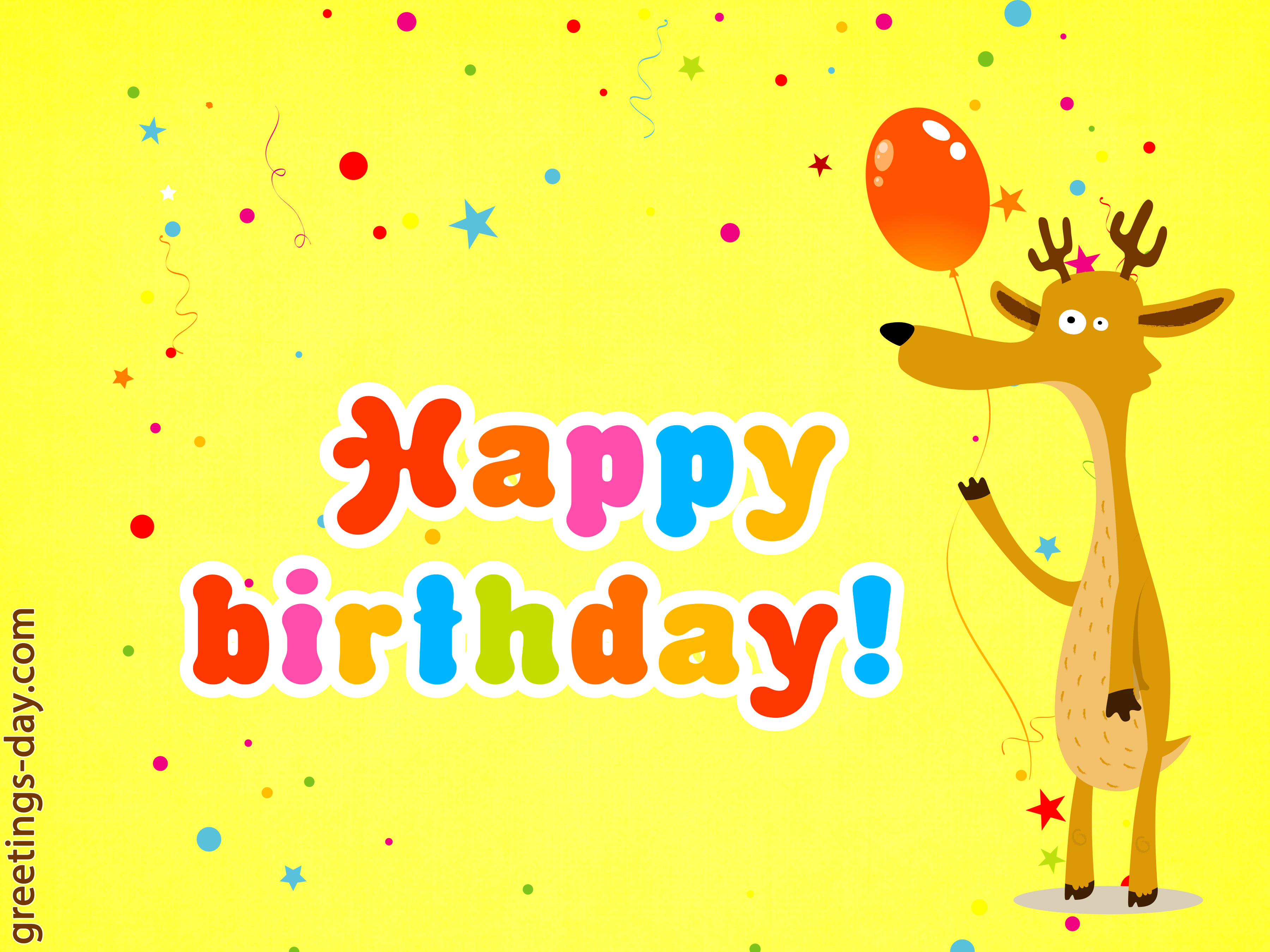 Happy Birthday Greeting Cards Share Image To You Friend On Birthday