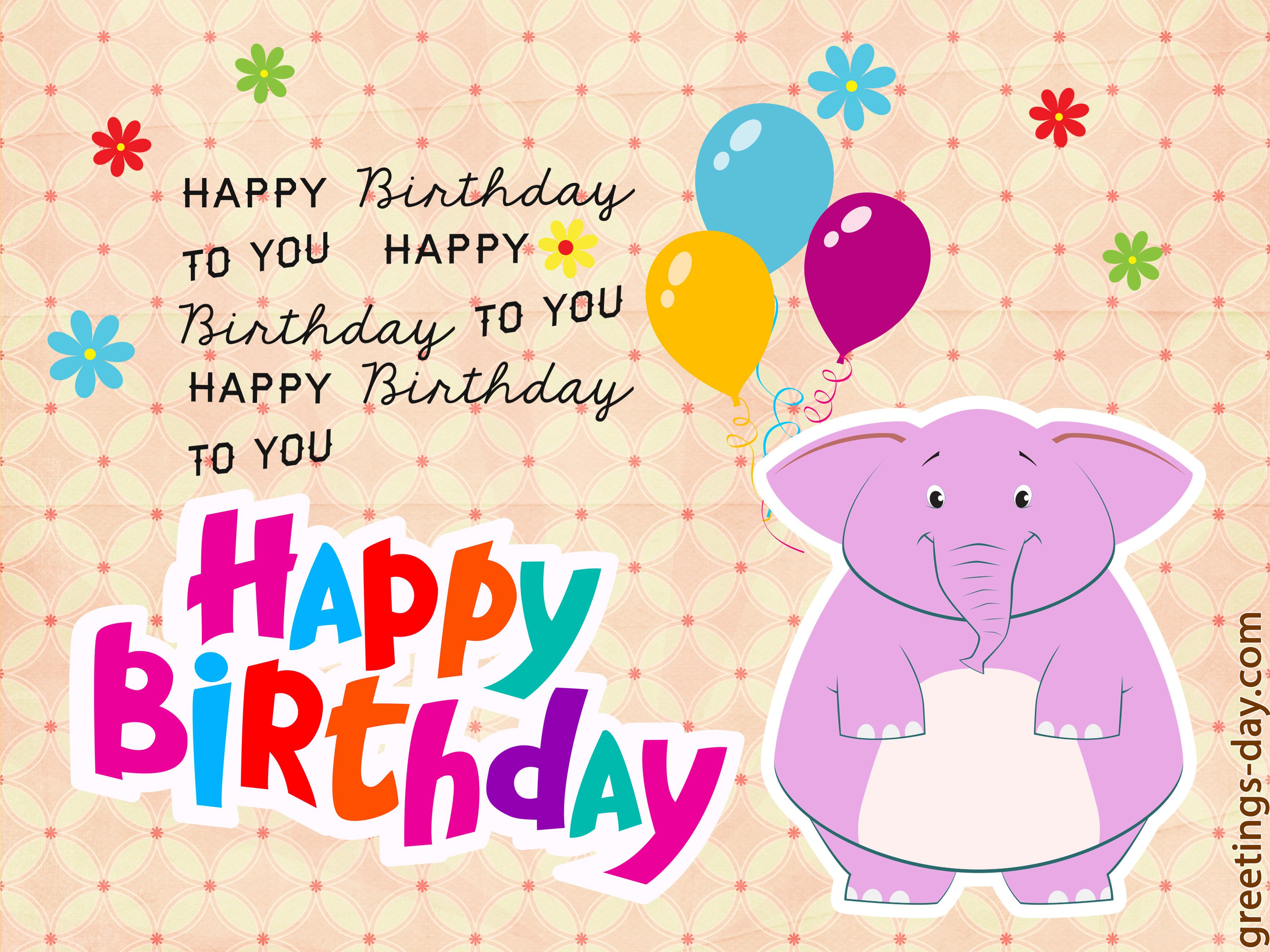 Happy Birthday card 23 06 14 ⋆ Greeting Cards Animated