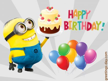 TOP-15 Happy Birthday eCards, wishes and greetings.