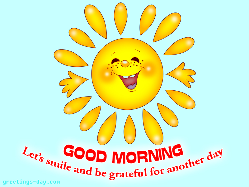 Good Morning Card Images Funny Smile Card Share To Your Friends