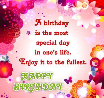 Birthday Wishes to you my Friend