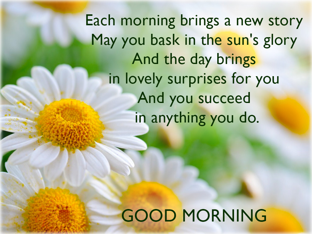 Good morning – Messages, Sayings & Pictures.