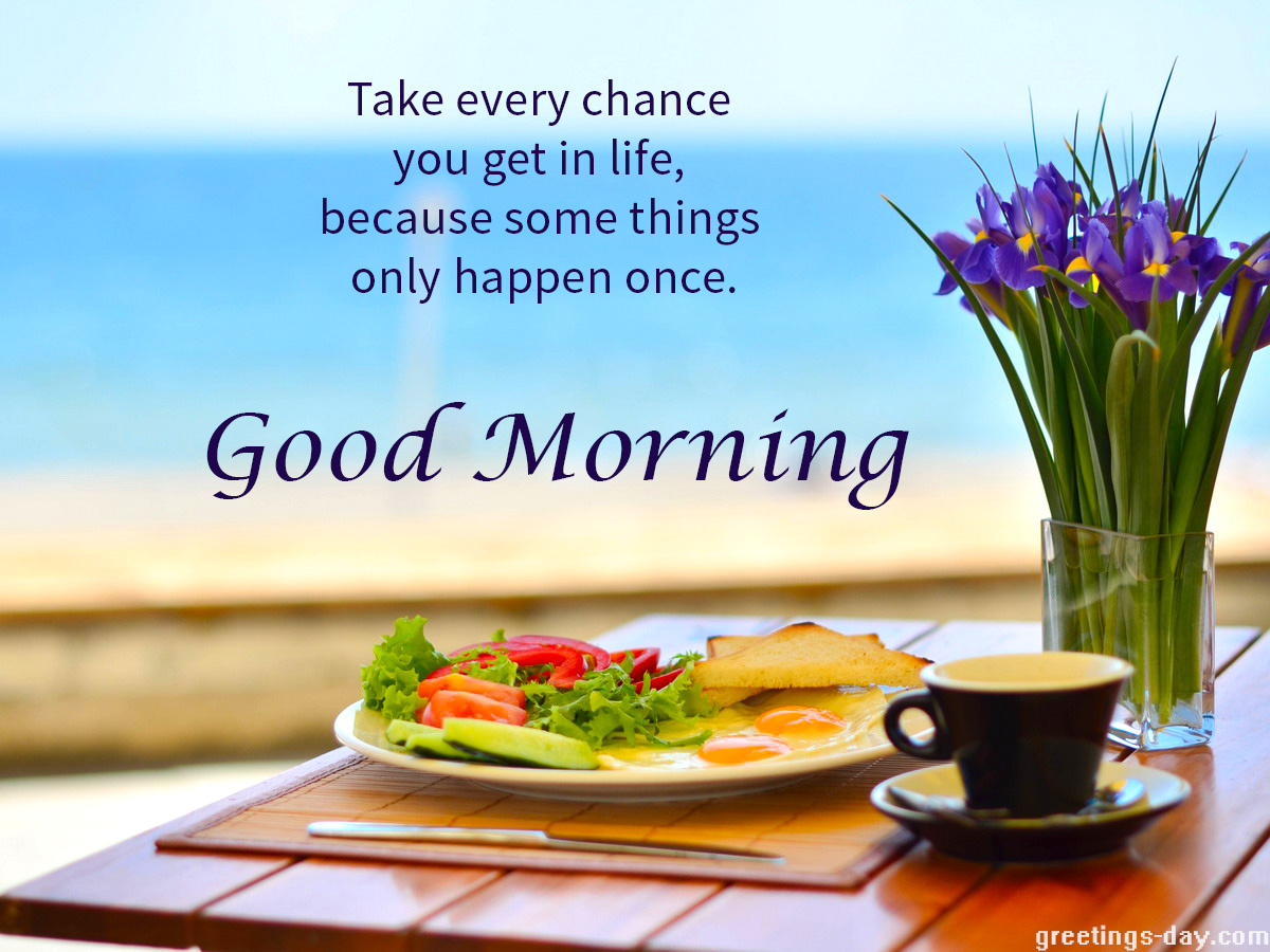 Quotes Good Morning Free Daily Wishes Messages Animated Ecards Gifs & Pics.