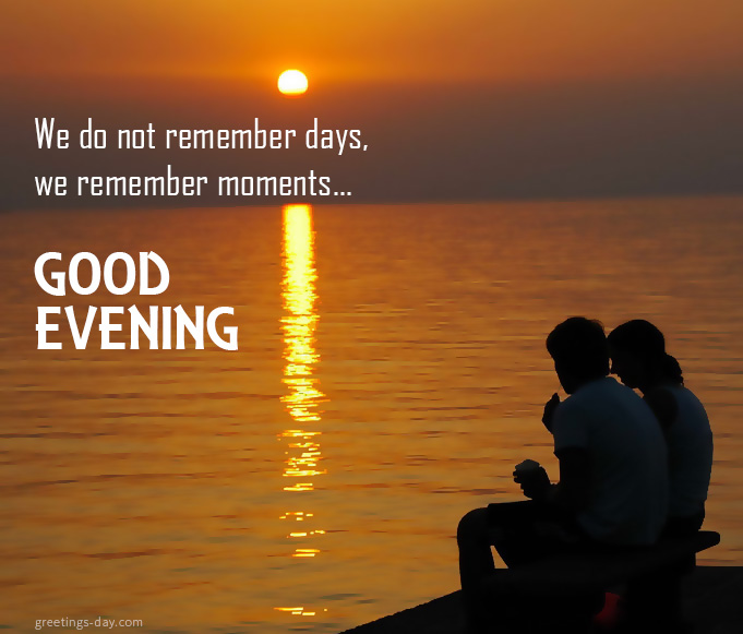 Good evening summer