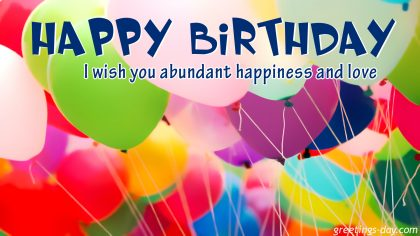 Happy Birthday  – Free birthday ecards, wishes and greetings.