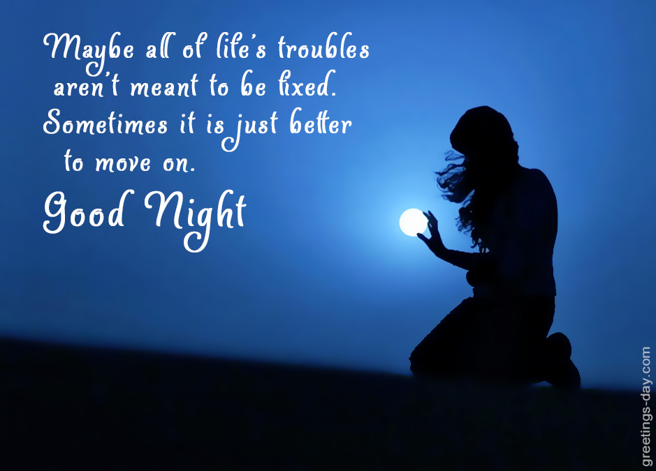 Good Night Daily Quotes Sayings