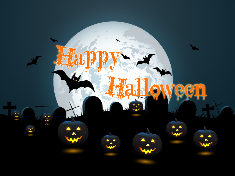 Happy Halloween Greeting Message & Ecards