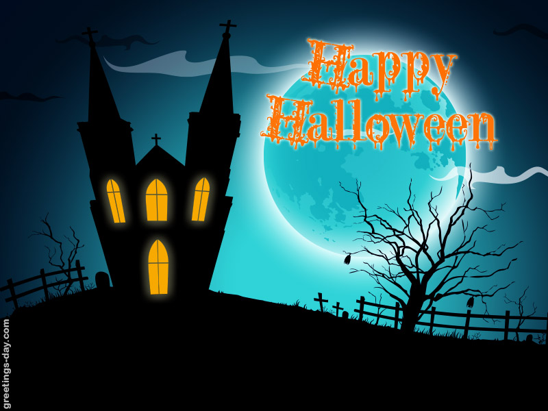 Happy Halloween – Free Greetings & Pics