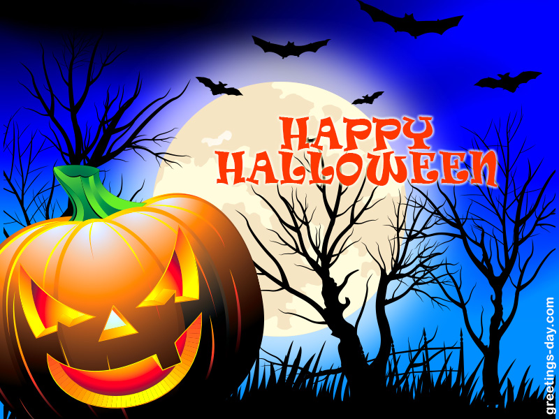 halloween ecards - Free Animated Halloween Cards