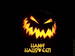 Halloween scared