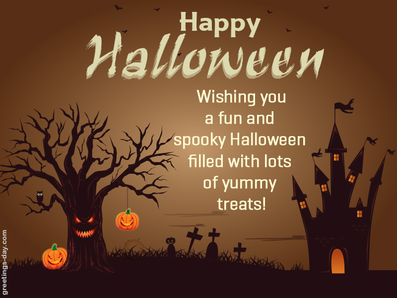 Halloween Wishes & Greetings.