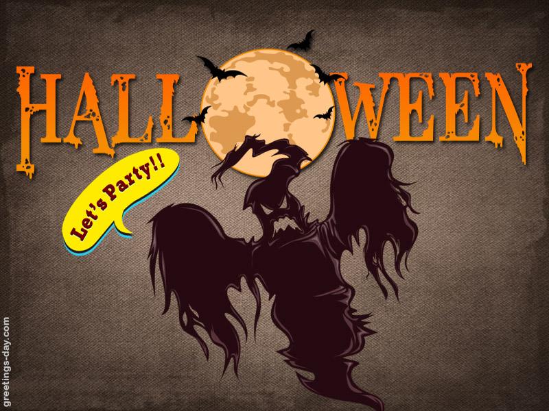Online free Happy Halloween ecards.