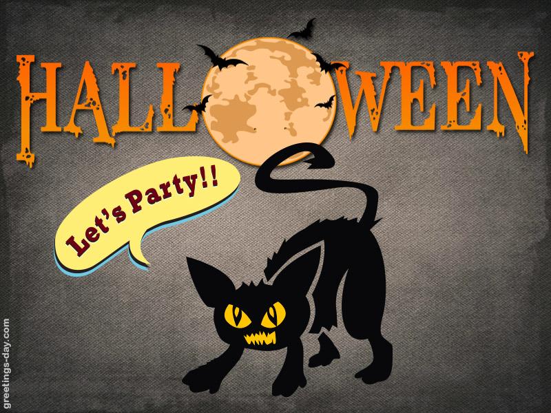 Online Happy Halloween greetings eCard