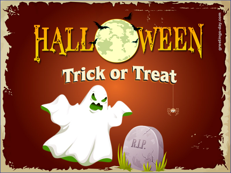 Happy Halloween Online Greeting Message