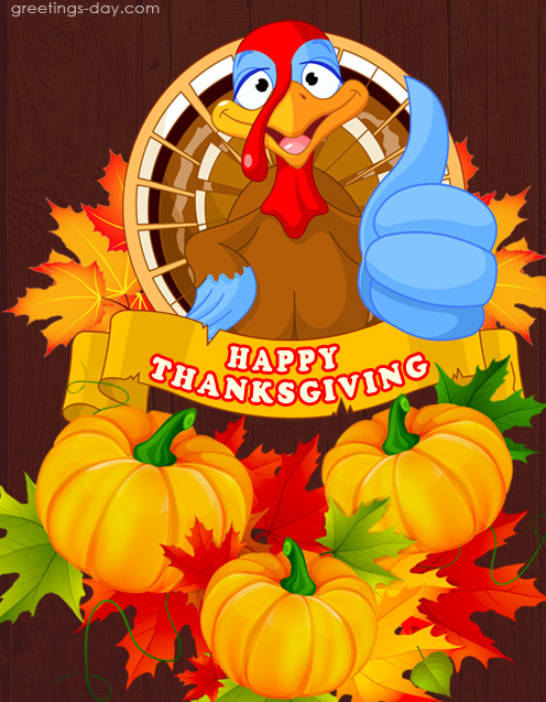 Happy Thanksgiving Day – Fun Pics & E-cards