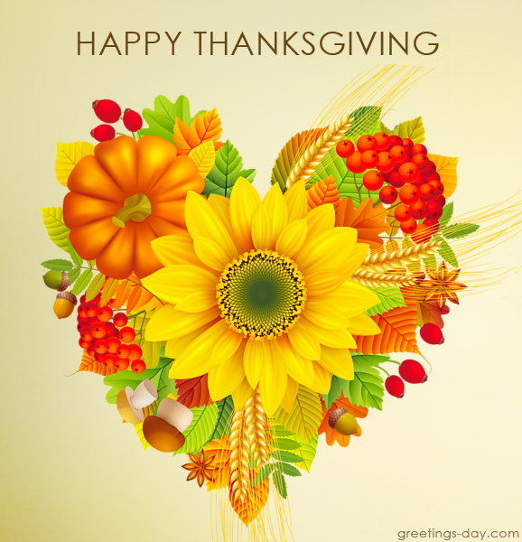 Happy Thanksgiving Day – Pics, Wishes, Greetings.