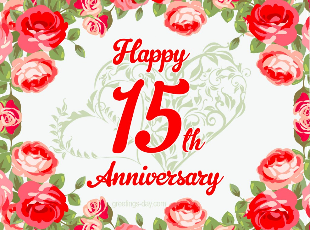 15 Year Wedding Anniversary Quotes: Free Ecards And Pics