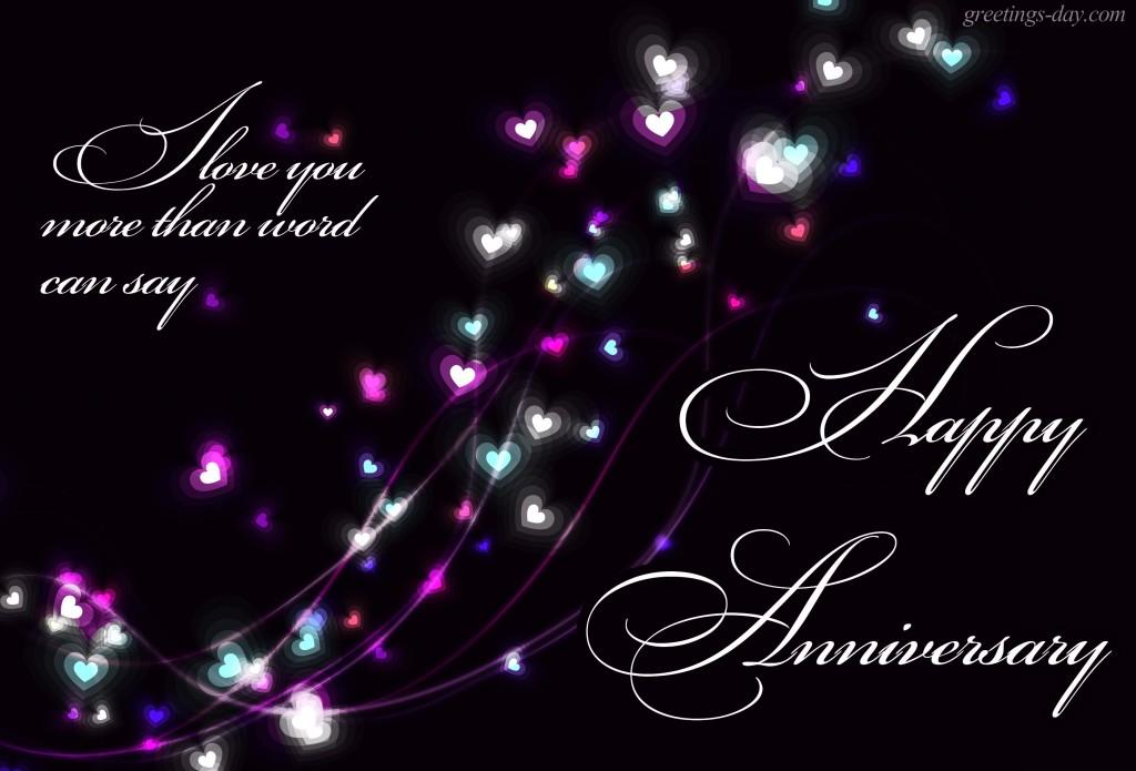 anniversary love hearts