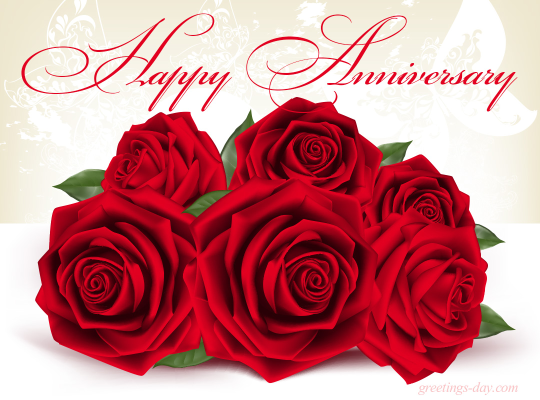 Happy wedding anniversary flowers pixshark