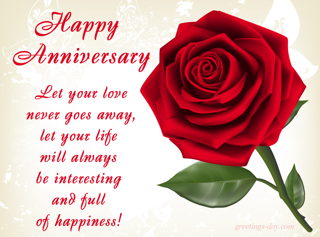 Greeting Cards For Every Day Happy Anniversary Ecards Pics