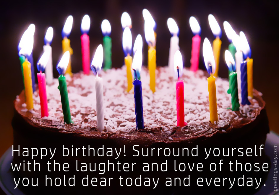 Happy Birthday – Wishes, Messages, Sayings & Pictures.