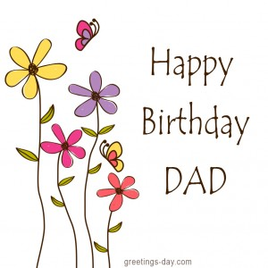 Happy birthday for dad