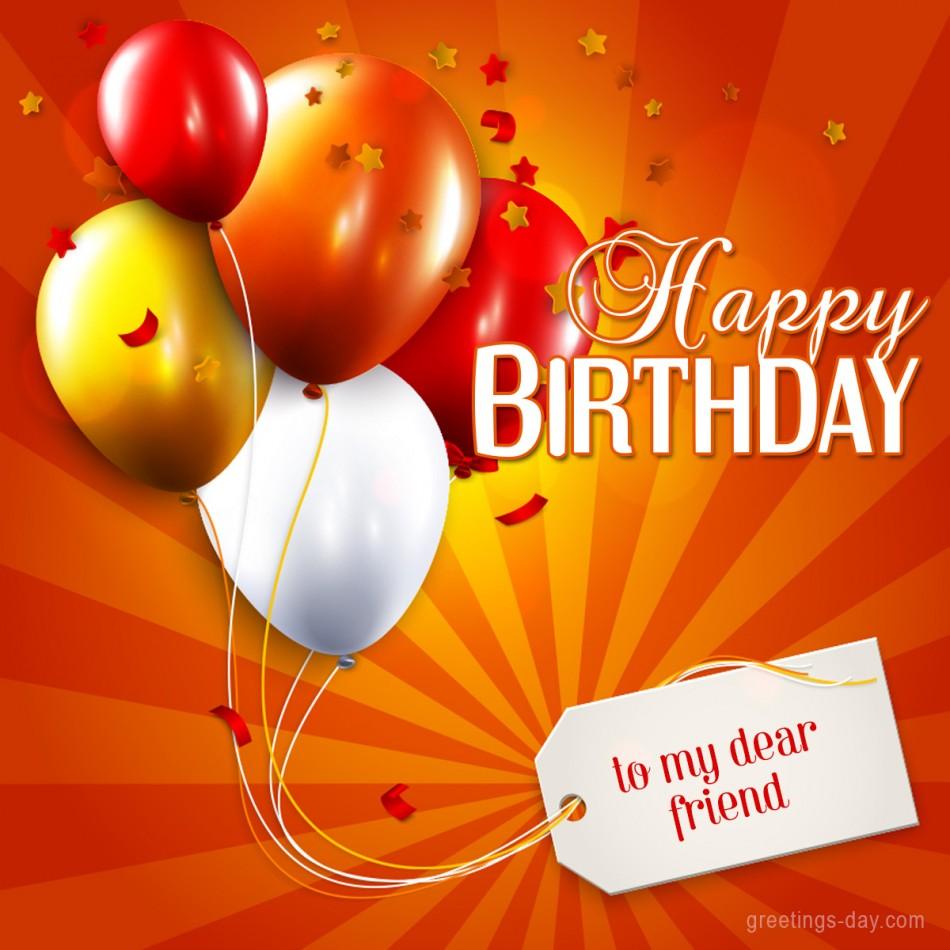 Birthday for friend