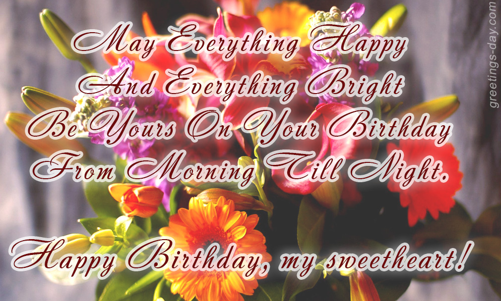 Birthday – Poems, Quotes, Messages & Wishes.