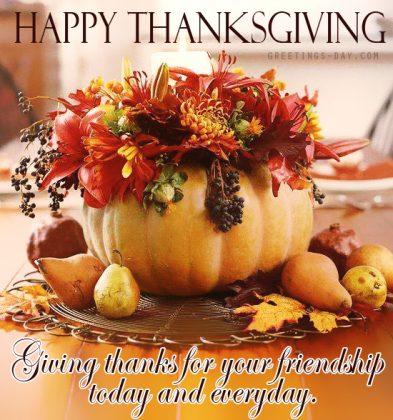 Happy Thanksgiving Free Image