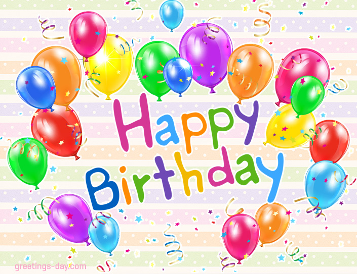 Free Birthday Ecards Pics – E Greeting Birthday Card
