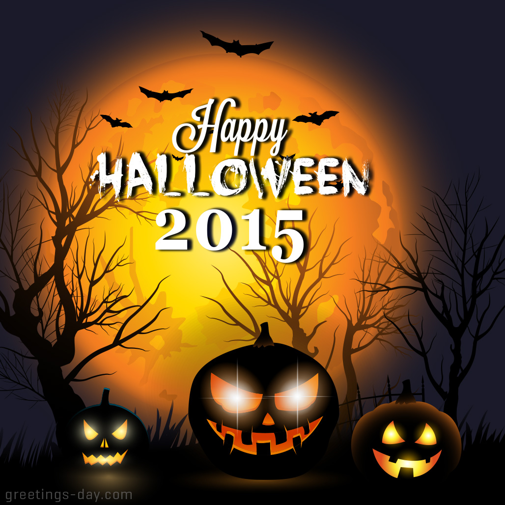 greeting cards for every day: halloween 2015 - pictures & ecards