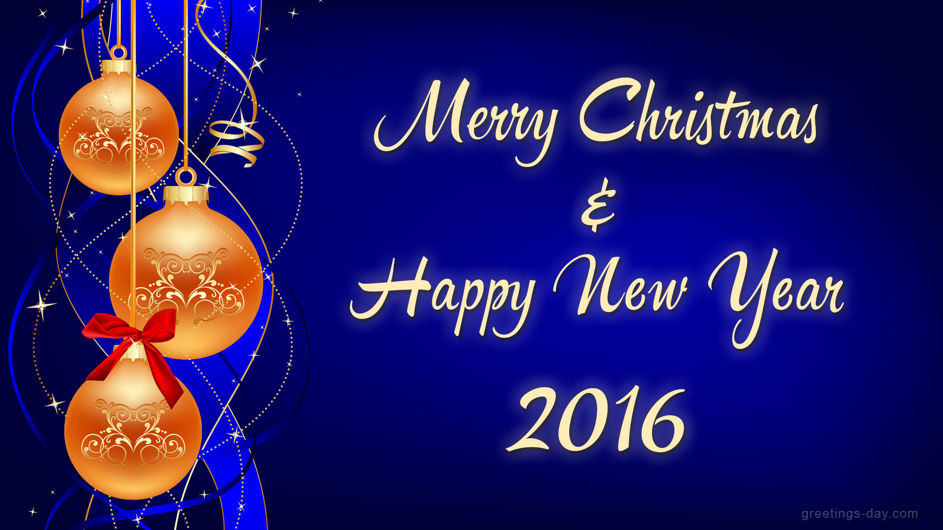 Merry Christmas Wishes To All 2015 2016 Sayings Quotes: Merry Christmas & Happy New Year