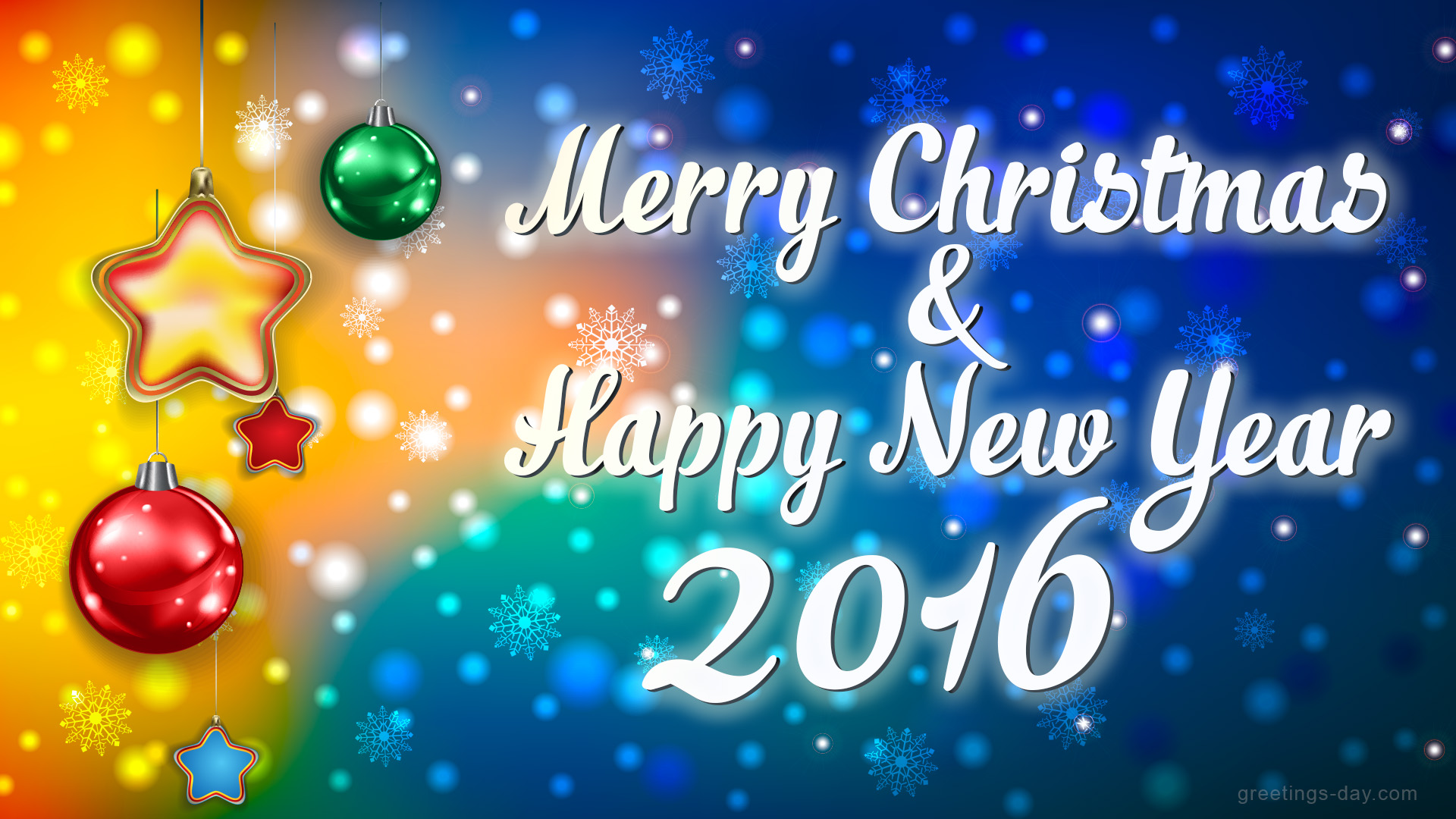 Merry Christmas & Happy New Year - Free Greeting Cards & Pictures