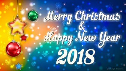 Merry Xmas 2018 Desktop Wallpaper Picture