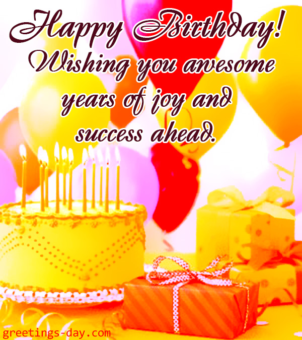Happy Birthday Ecards Animated Gifs Pics – E Birthday Cards Animated
