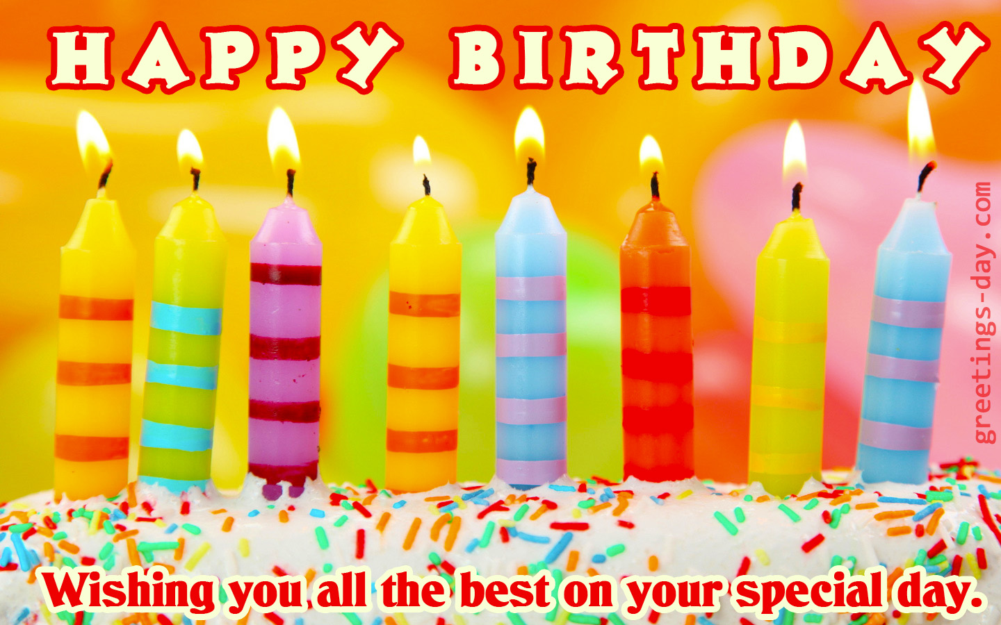 Greeting Cards For Every Day Happy Birthday Friends Free