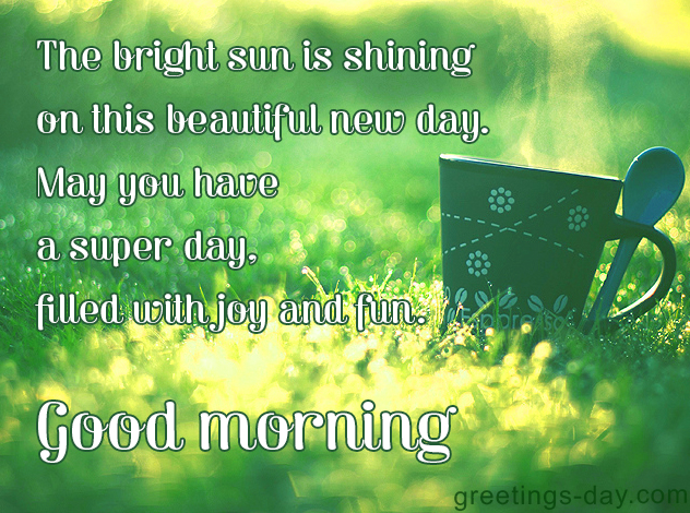 morning messages ⋆ Greeting Cards, Pictures, Animated GIFs