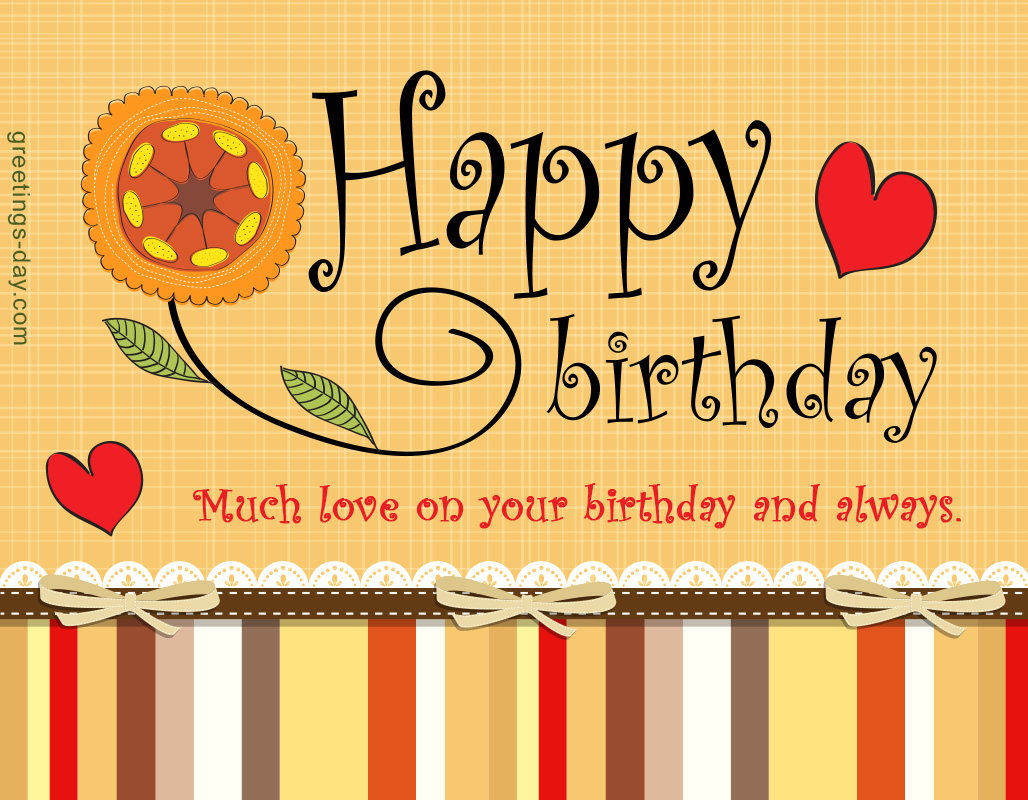 Birthday Ecards For Loved One