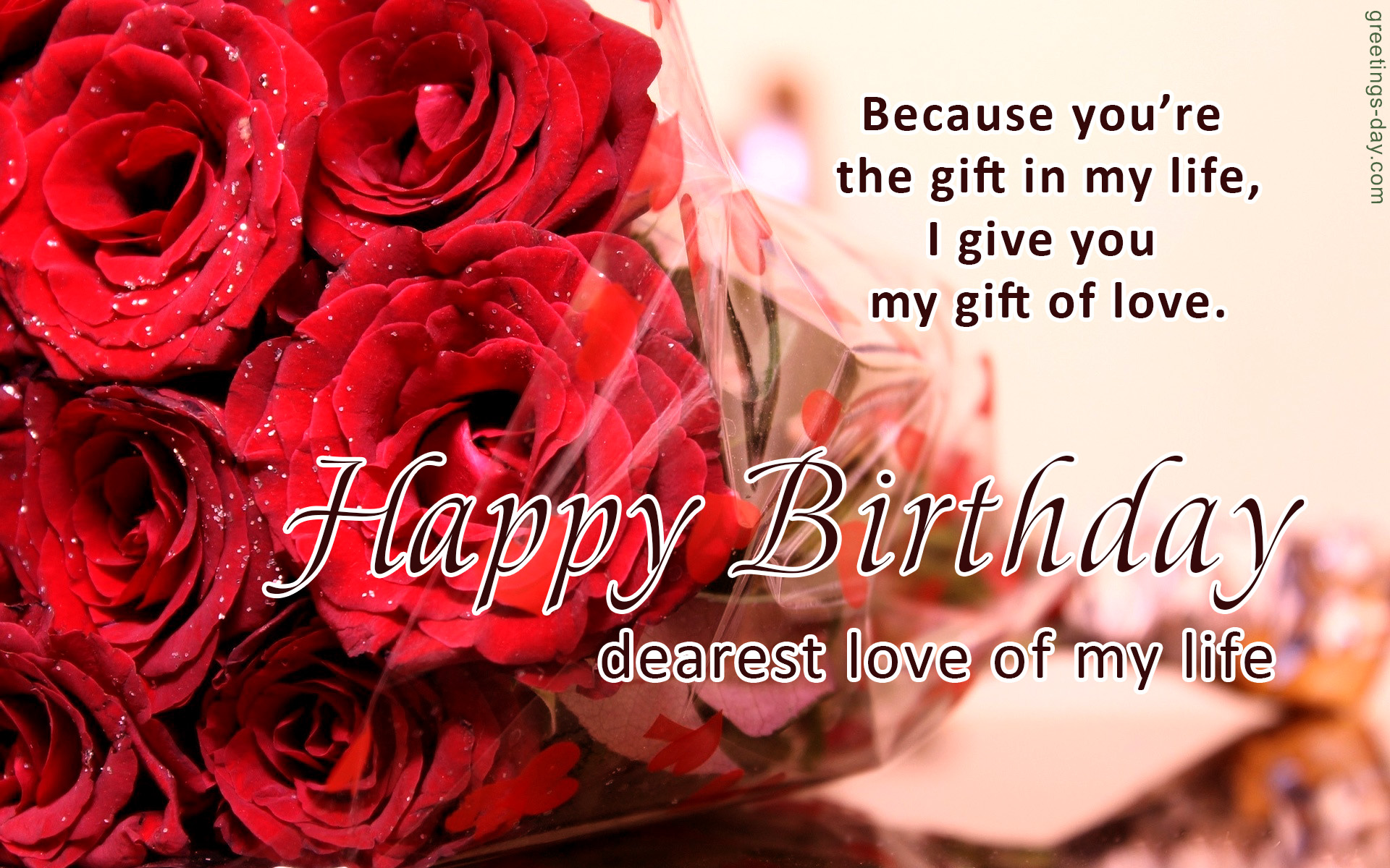 Happy Birthday Sweet Wishes and Greetings for Loved One