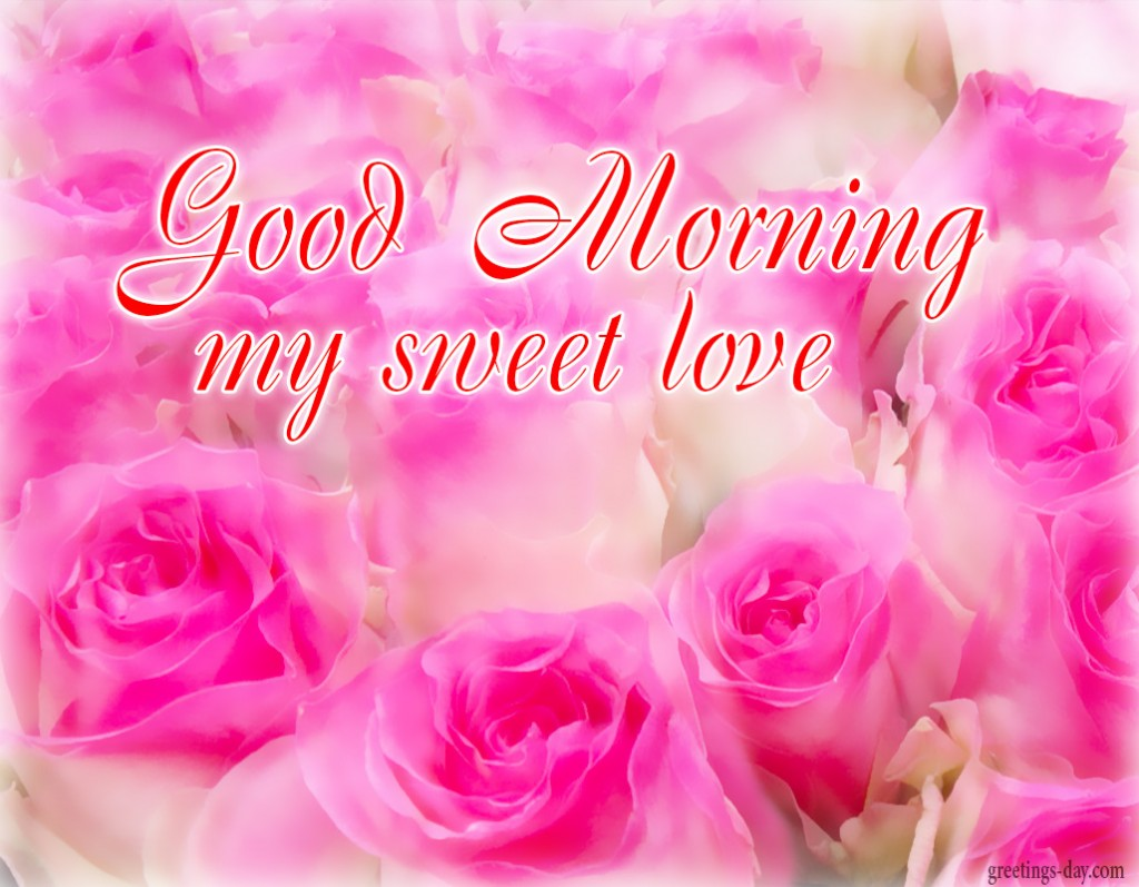 good morning sweet