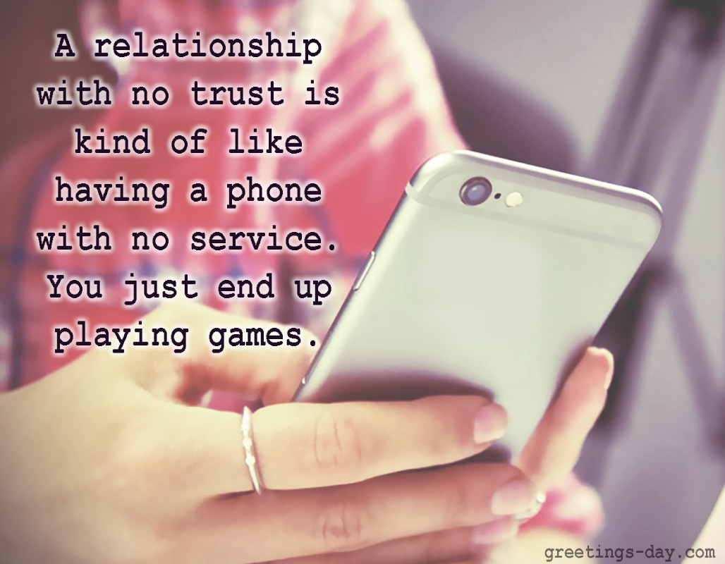 Quotes About Trust And Love In Relationships Greeting Cards For Every Day Love & Romantic Quotes  Inspiration