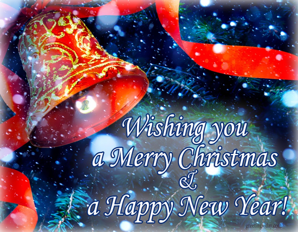 Merry Christmas Happy New Year Ecards Greetings