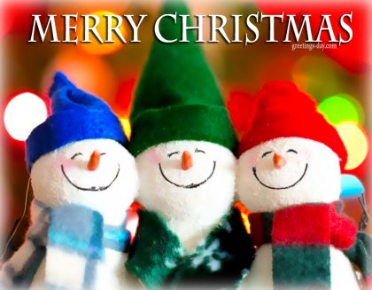 Merry Christmas –  Photos, Images & Greetings, Wishes.