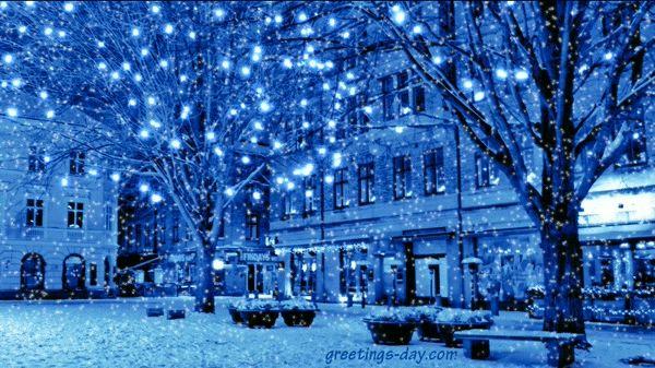 Christmas light gif