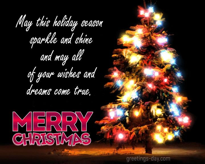 Merry christmas animated gifs and pics quotes