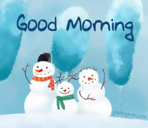 good morning winter