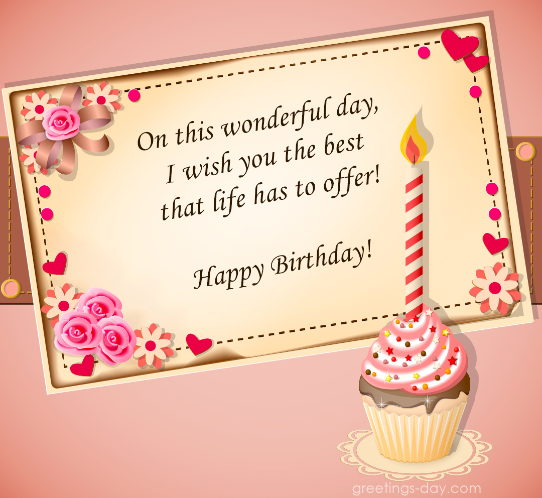 Happy Birthday Pics for  Girls – Best Cards, Images and Wishes.