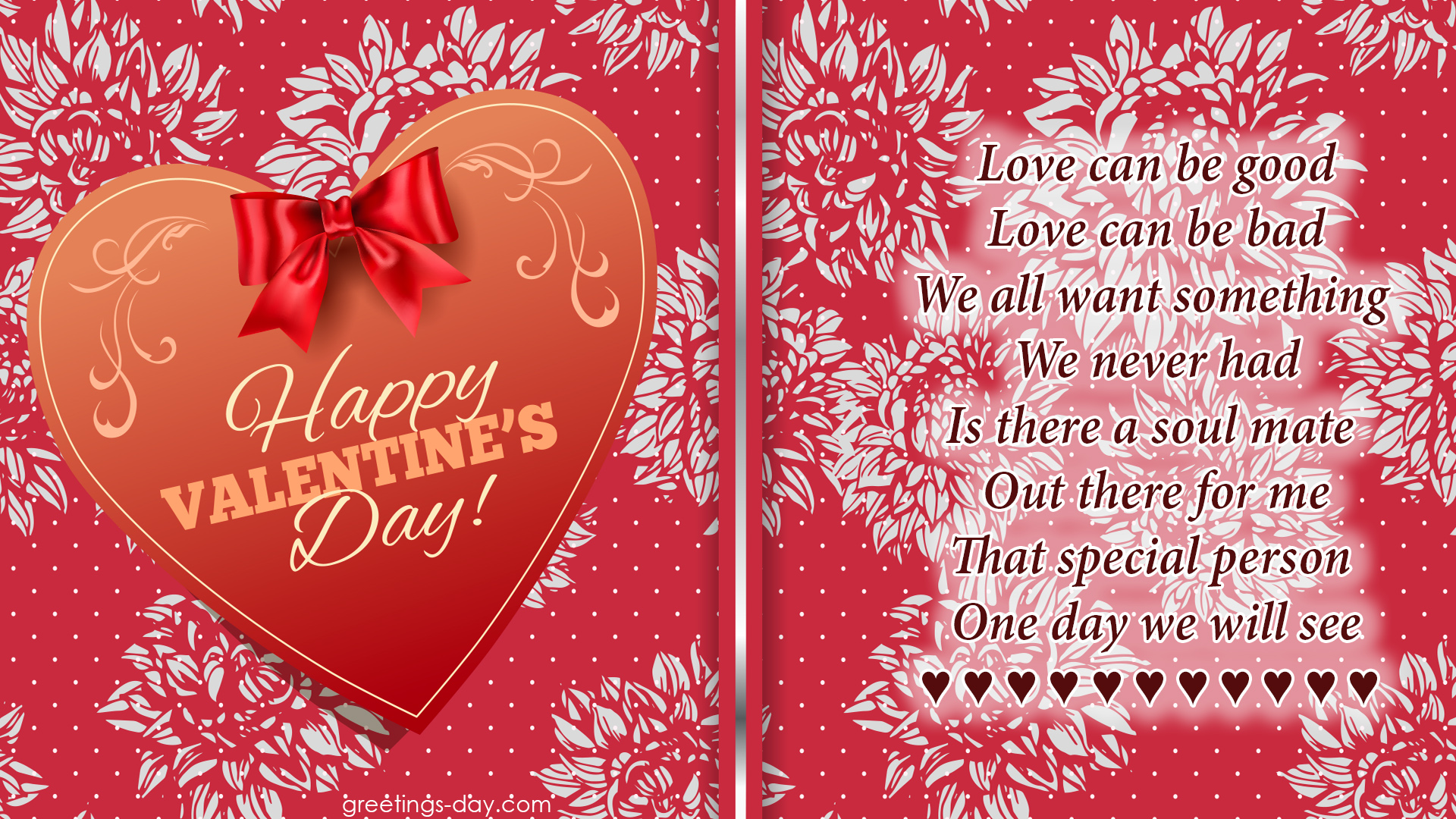 Valentines Day Cards Sayings Quotes To Her with Soul